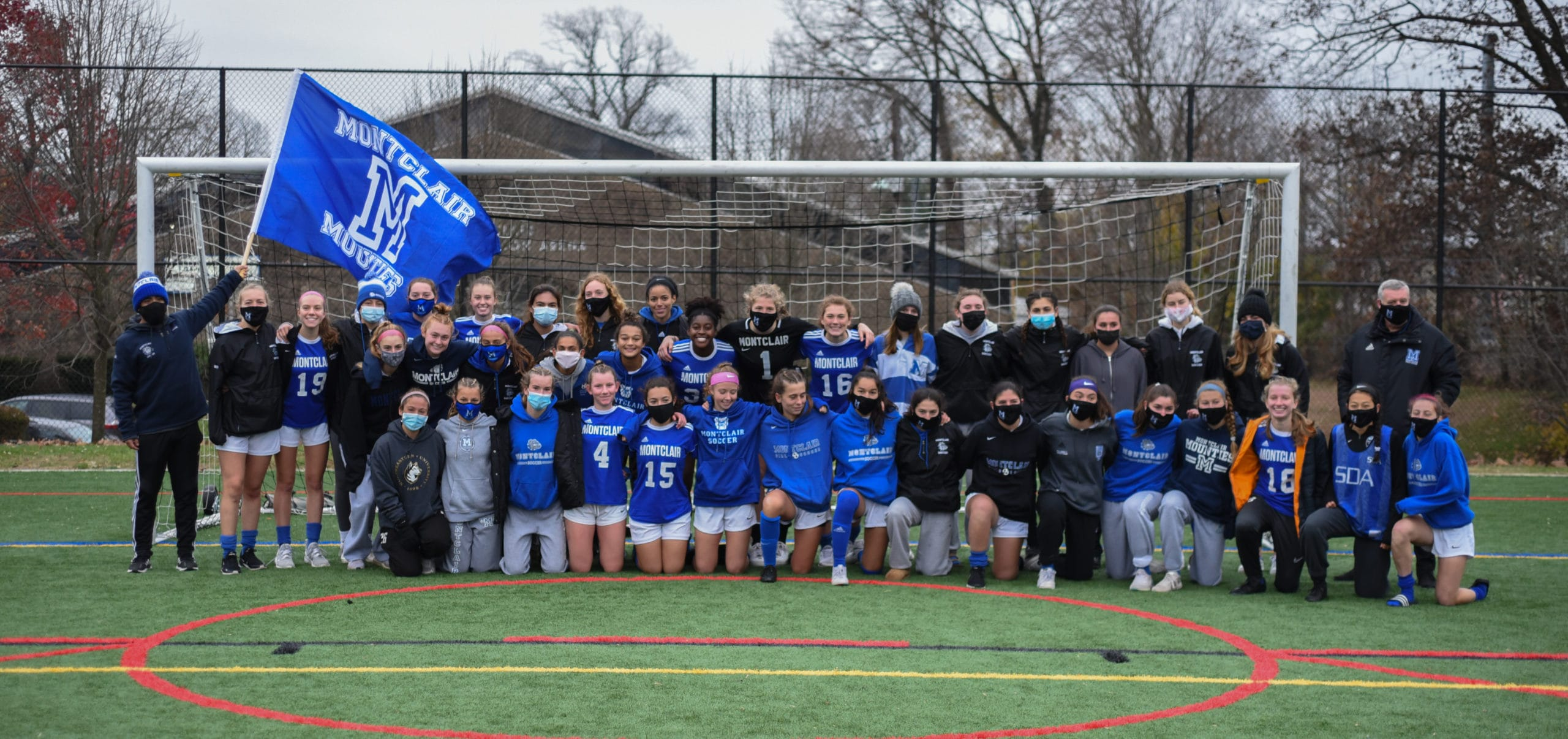 MHS girls' soccer team photo