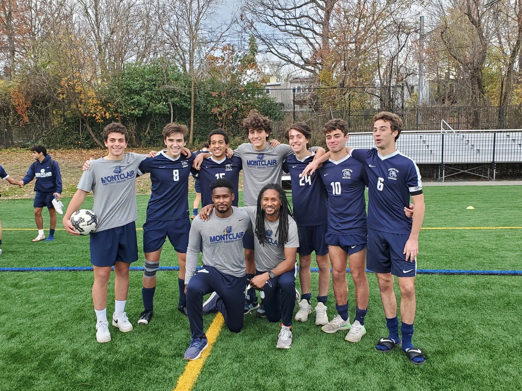 MHS boys' soccer group photo