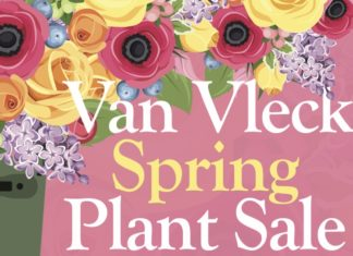 Annual Spring Plant Sale at Van Vleck Gardens