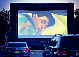 drive-in and outdoor movies